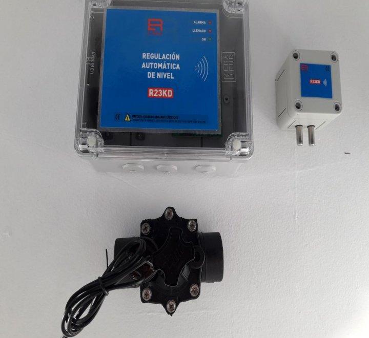 Regulador Automático de nivel de piscina sin cables