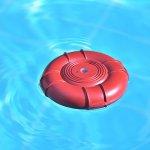 Lifebuoy alarma piscina