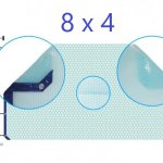 Manta térmica solar 8x4