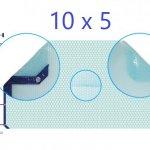 Manta térmica solar 10x5