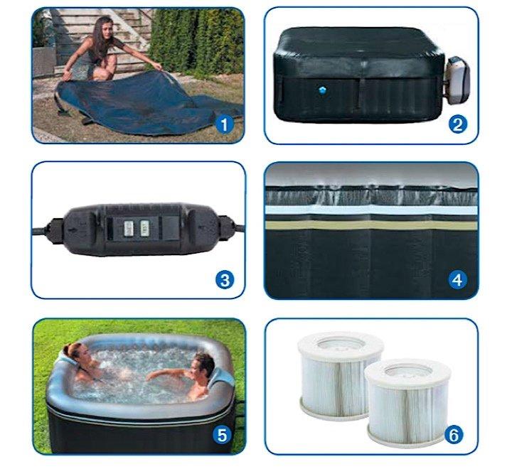 Spa Hinchable Aspen Poolstar